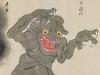 Bakemono Zukushi monster scroll -- -16