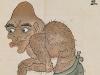 Bakemono Zukushi monster scroll -- -4